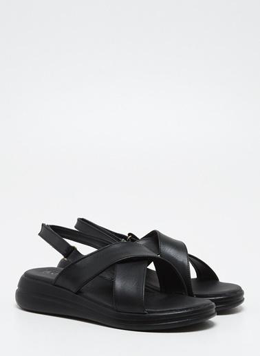F By Fabrika Kadın Siyah Sandalet NORA Siyah
